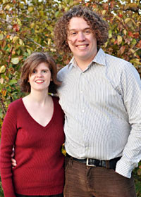 Andrew and Kristin Wood, owners of Russet. (photo by Jennifer Nolan)