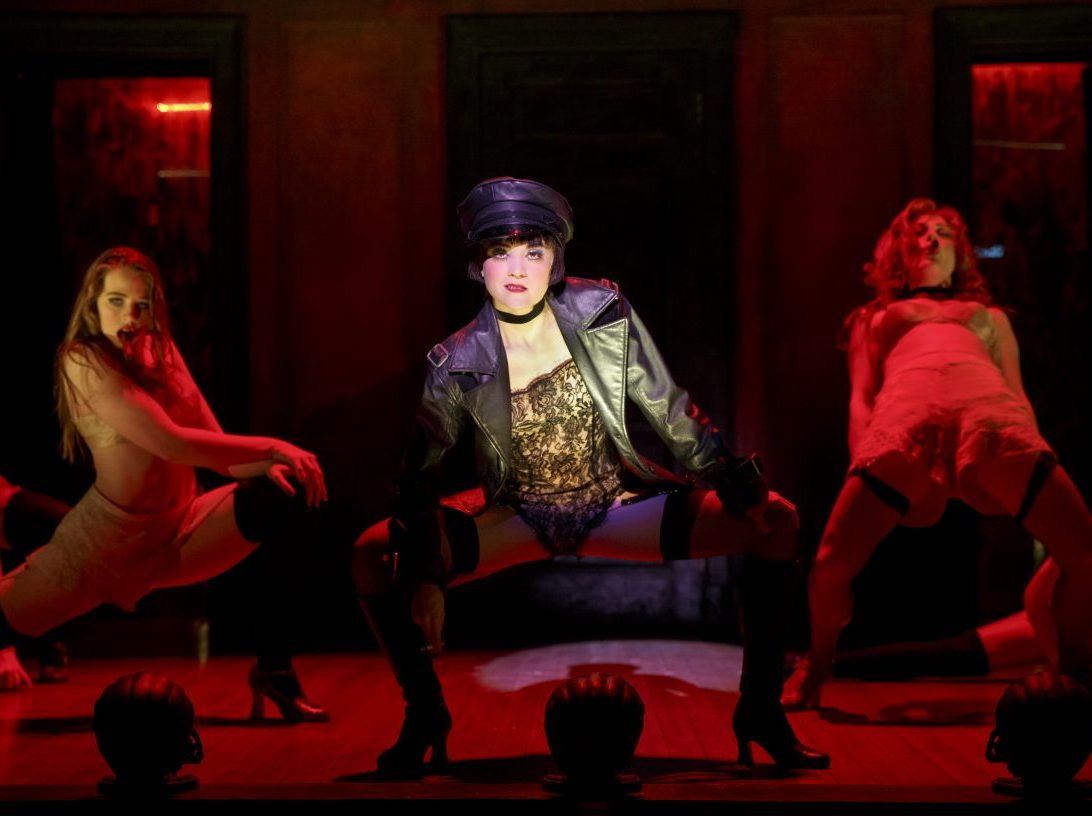 The cast of Cabaret at the Providence Performing Arts Center. The production will come to the Academy of Music in Philadelphia on April 4