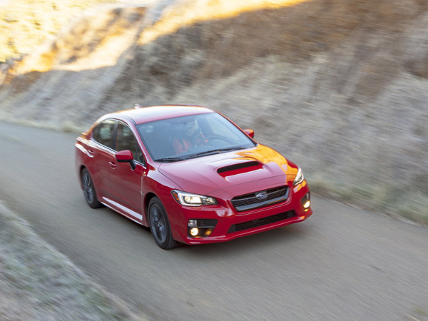 The 2015 Subaru WRX goes 0-to-60 in a little more than 5 seconds, according to Car and Driver. (Subaru/MCT)