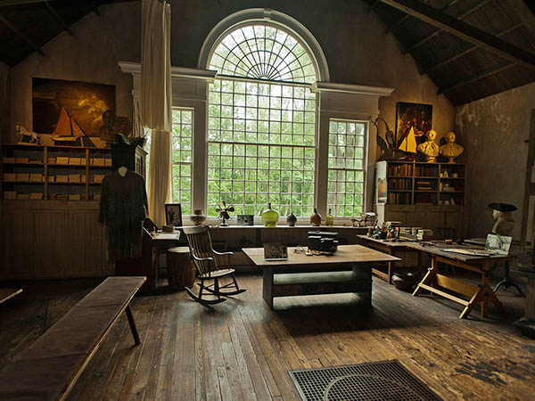 Artist N.C. Wyeth´s studio, a short drive from the Brandywine River Museum of Art. Plans call for trails and programs guiding visitors to the historic properties owned by the conservancy. (Ron Tarver / Staff Photographer)