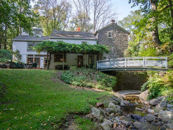An historic Wynnewood home located on East Old Gulph Road.