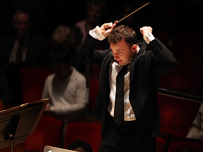 Conductor Yannick Nezet-Seguin, at Verizon Hall at the Kimmel Center in December. (Laurence Kesterson / Staff Photographer)