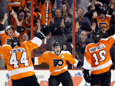 The Flyers are battling with the Penguins for the fourth spot in the Eastern Conference. (Yong Kim/Staff Photographer)
