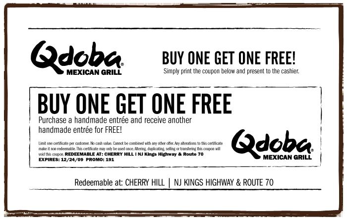 Qdoba coupon august 2018