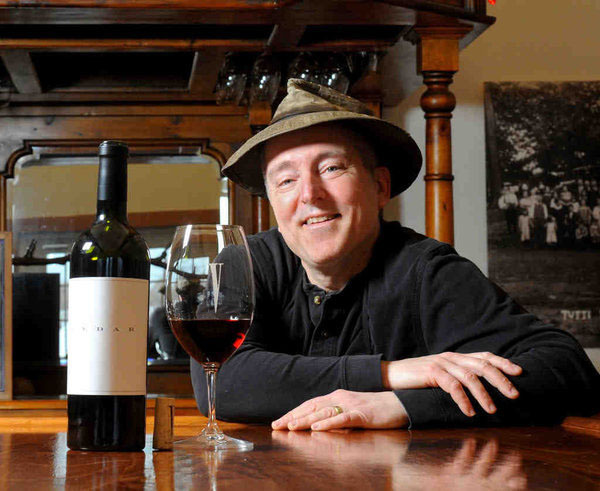 Owner-winemaker of Va La Vineyards in Avondale, Pa., Anthony Vietri poses for a portrait. (CLEM MURRAY / Staff Photographer)