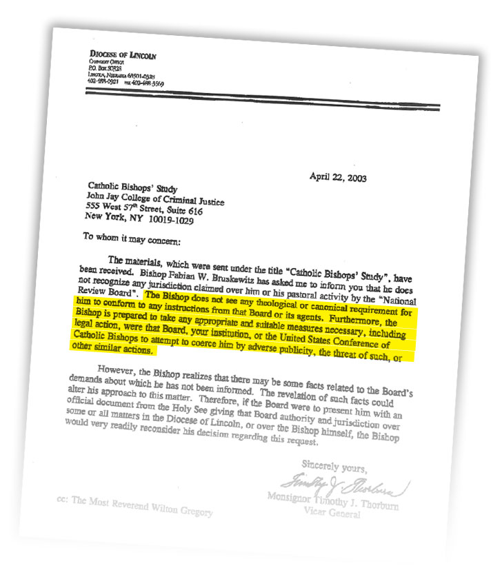 by 2004 anne m burke the head of the board wrote to the vatican saying the reform pledged by the us bishops appears to be nothing more than common