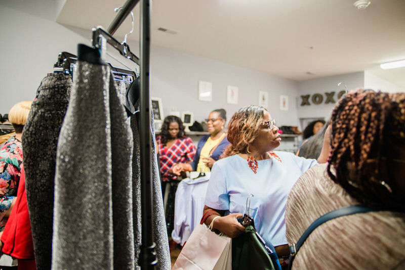 Curve Conscious Boutique. (Tonjanika Smith Photography, event)
