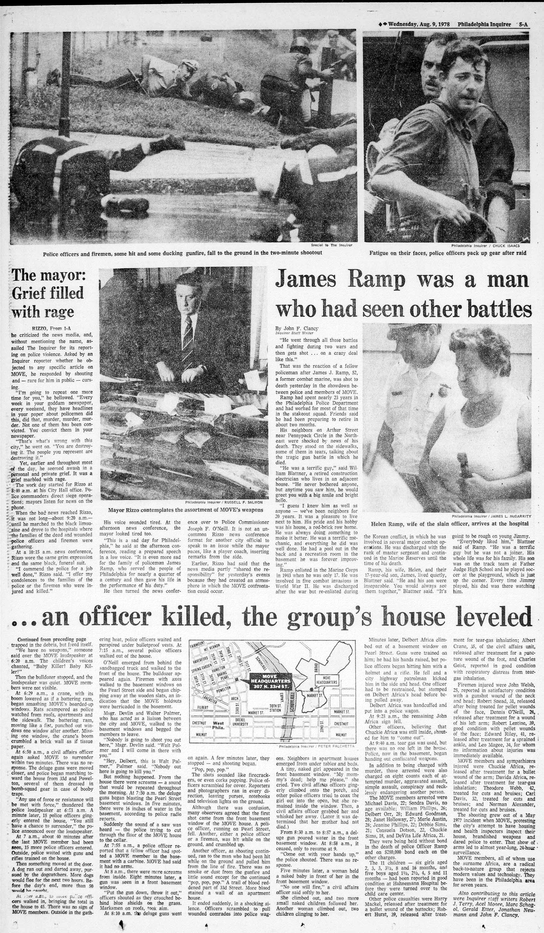 the move crisis inquirer 1978 coverage philly