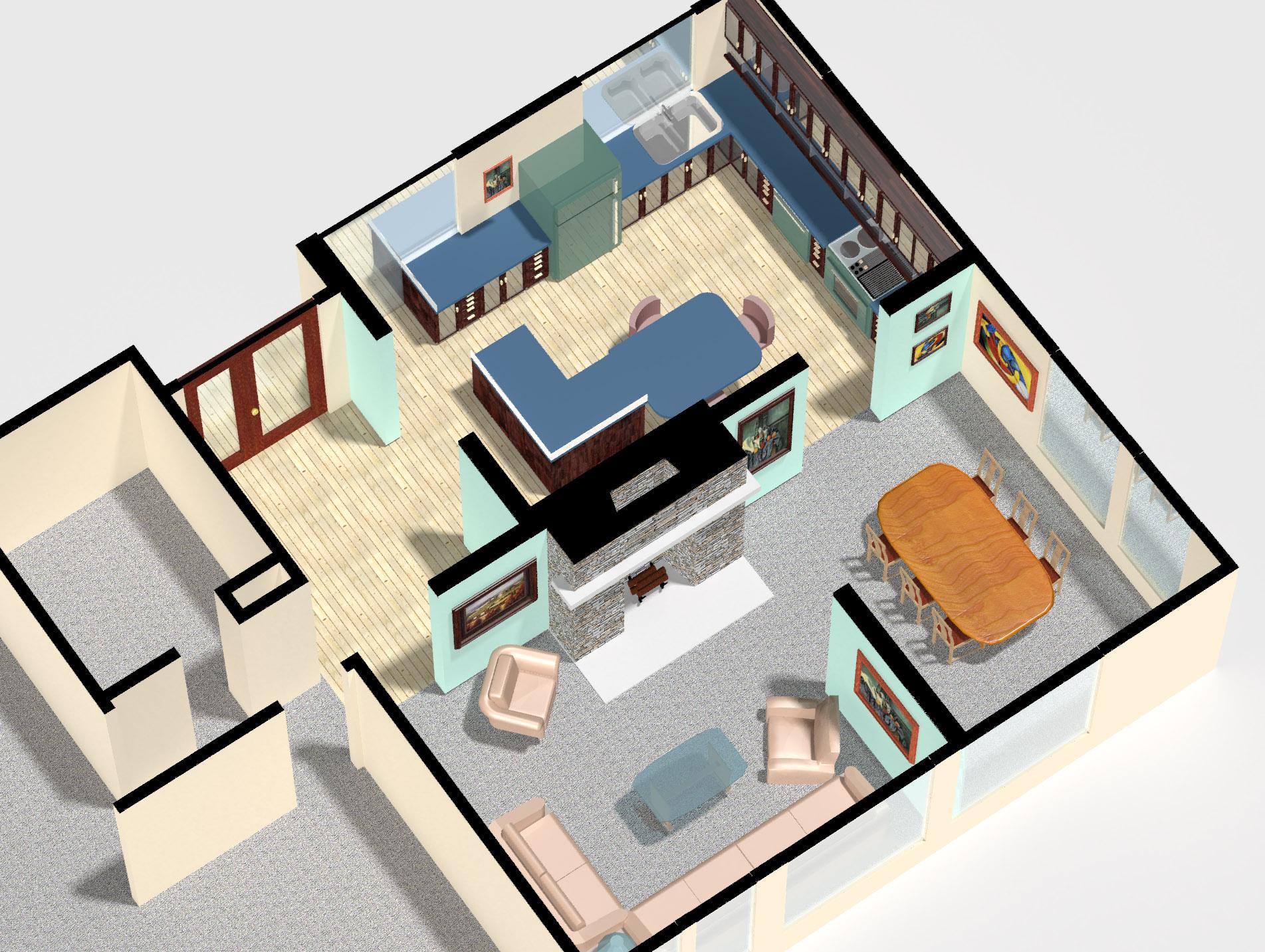 Closed Floor Plans