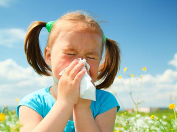 Alergeni polenul la copii