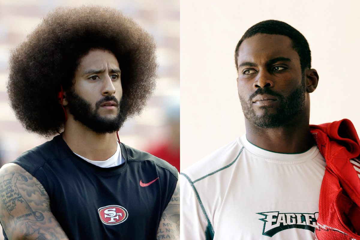 michael vick to colin kaepernick: cut your afro